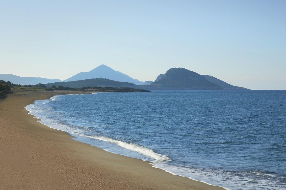 Navarino Dunes beach